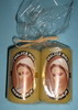 M40 1/4 2/1 C02 YE - Candles Medjugorje Queen of Peace - yellow