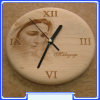 CL-023 Our Lady Queen of Peace Wall Clock from Medjugorje