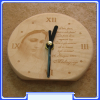 CL-026 Our Lady-Pace,paca,pace,e solo pace! Wall Clock, Gospa