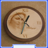 CL-037 Medjugorje Gospa Wall Clock, Our Lady of Medjugorje