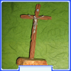 CFS1003 Medjugorje Free Standing Crucifix with Stone Base, Fine