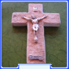 RC-0342 Rock Wall Crucifix from Medjugorje