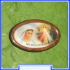 MGC_027 Jesus and Our Lady-Gospa of Medjugorje Magnet
