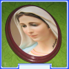 PWG_049 Our Lady of Medjugorje-Queen of Peace Wall Plaque