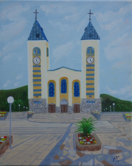 BIG PICTURE: Paint St James Church, early morning Artist from N. Ireland: Paula Connolly