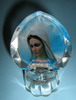 HX-5242 GF Medjugorje - Our Lady of Peace - glass with light