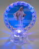 XY-22 G Gospa Photo with light a figure of Our Lady of Peace
