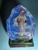 XY-24 G Photo a figure of Our Lady of Peace - Gospa - glass