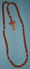 E8034105 BR - WR006 - Wooden Rosary brown