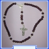 MON200-R11-BR    - brown Rosary of Mary Mother of God (Gospa)