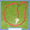 MON200-R11-RO - rose Rosary of Mary Mother of God (Gospa)