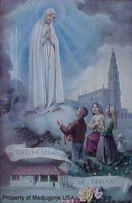 93ND APPARITION ANNIVERSARY OCTOBER 13TH. 2009 BELOW IS THE BRIEF STORY OF THE FATIMA APPARITIONS OUR LADY OF FATIMA