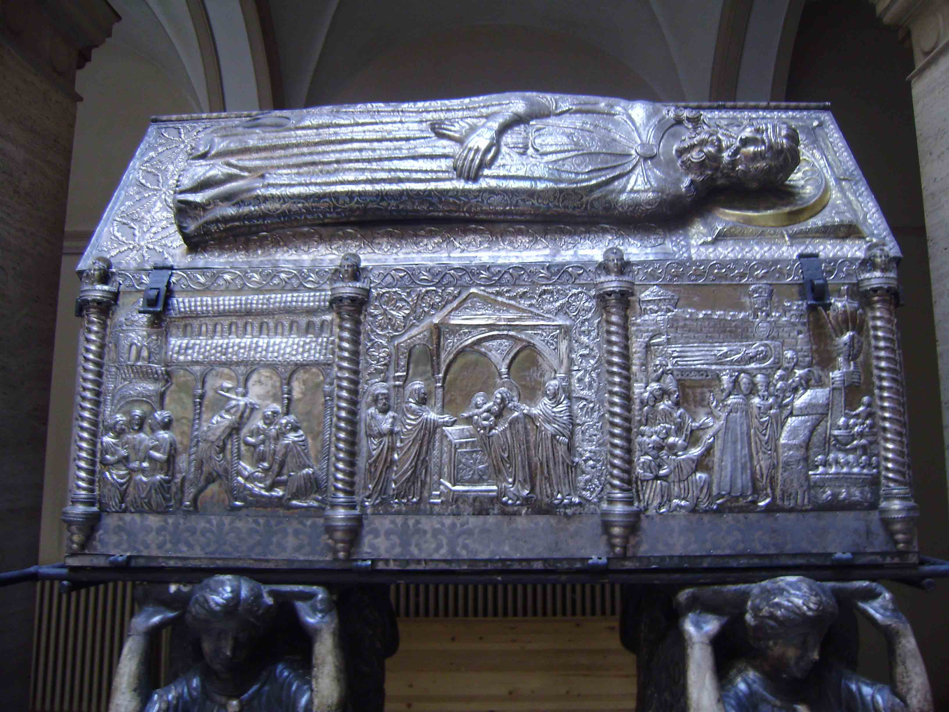 ST.SIMON'S SARCOPHAGUS - REPLICA, ST. SIMON'S CHURCH, ZADAR