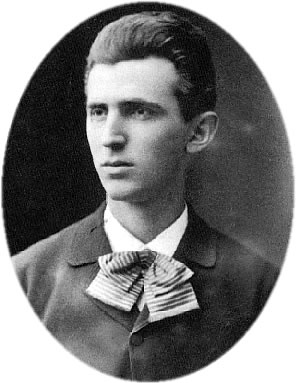 NIKOLA TESLA C.1879 AT AGE 23 - NIKOLA TESLA  BORN 	10 JULY 1856 (1856-07-10) SMILJAN, AUSTRIAN EMPIREA (CROATIAN MILITARY FRONTIER) (TODAY CROATIA) DIED 	7 JANUARY 1943(1943-01-07) (AGED 86) NEW YORK CITY, NEW YORK, USA RESIDENCE 	AUSTRIA-HUNGARYA FRANCE UNITED STATES OF AMERICA CITIZENSHIP 	AUSTRO-HUNGARIANA (1856–1891) AMERICAN (1891–1943) HOMELAND: CROATIAN NATIONALITY 	SERBIAN FIELDS 	MECHANICAL AND ELECTRICAL ENGINEERING INSTITUTIONS 	EDISON MACHINE WORKS TESLA ELECTRIC LIGHT & MANUFACTURING WESTINGHOUSE ELECTRIC & MANUFACTURING CO. NOTABLE AWARDS 	EDISON MEDAL (1916) ELLIOTT CRESSON MEDAL (1893) JOHN SCOTT MEDAL (1934) - NIKOLA TESAL POSTCARD 1890