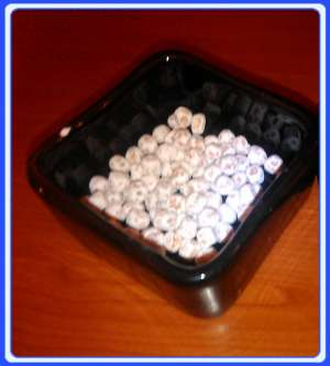 ROCK - Stone beads from Medjugorje (Rosario) set of 100-2000 beads hand made of stone