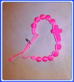 MAR_P01 Women Bracelets of Gospa of Medjugorje