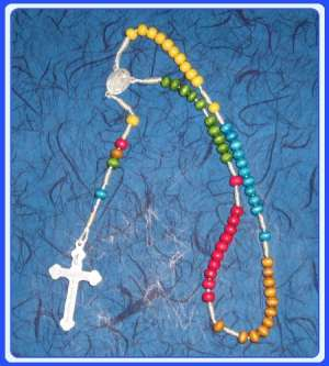 MON200-R16 Misionarska krunica - Missionary Rosary – 5 mm beads