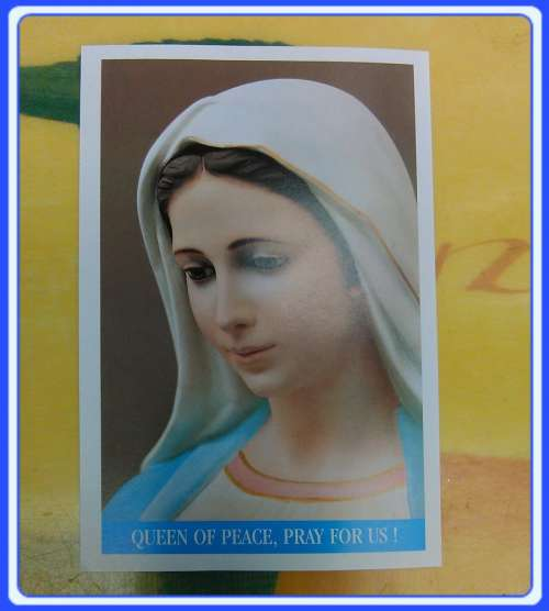 PC-EN_x01 Prayer cards Medjugorje Prayer Card - English