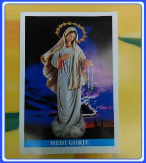 PC-EN_x02 Prayer cards Medjugorje Prayer Card - English